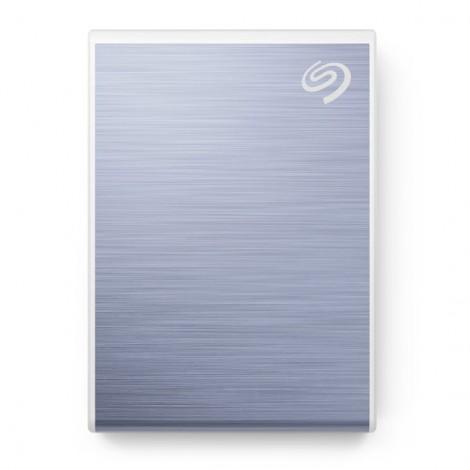 Ổ Cứng Di Động SSD 500GB Seagate One Touch USB-C + Rescue STKG500402 (Xanh)