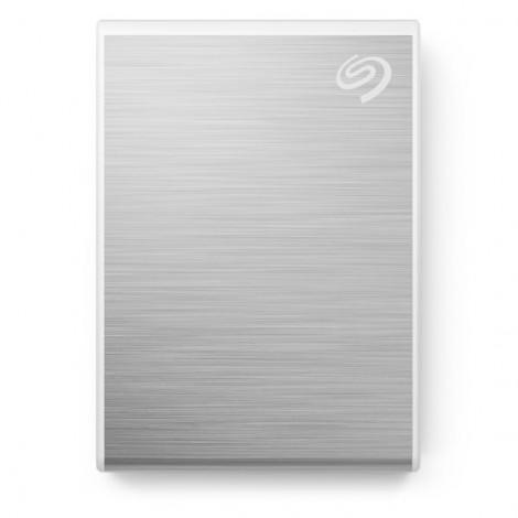 Ổ Cứng Di Động SSD 1TB Seagate One Touch USB-C + Rescue STKG1000401 (Bạc)