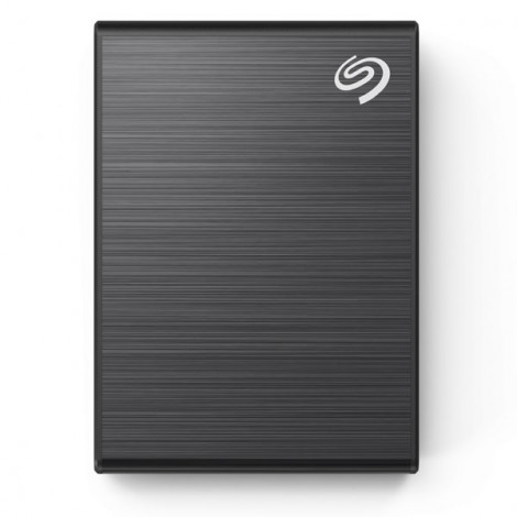 Ổ Cứng Di Động SSD 2TB Seagate One Touch USB-C + Rescue STKG2000400 (Đen)