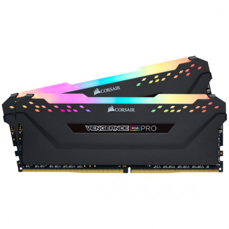 RAM Corsair Vengeance RGB PRO 64GB (2x32GB) DDR4 Bus 3200Mhz CMW64GX4M2E3200C16