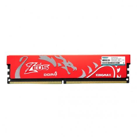 RAM Desktop Kingmax 32GB DDR4 HEATSINK (Zeus) Bus 3200Mhz