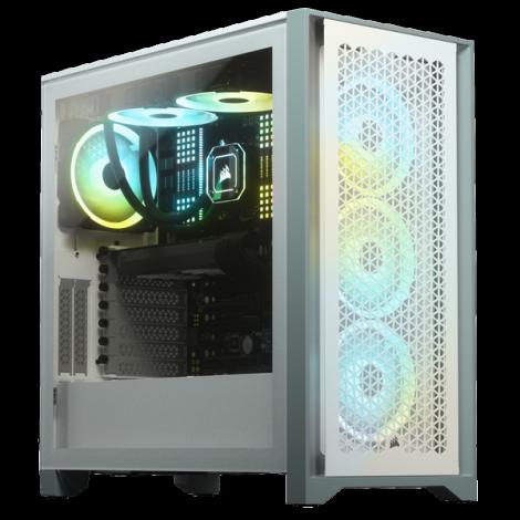 Vỏ máy tính Corsair 4000D Airflow TG White