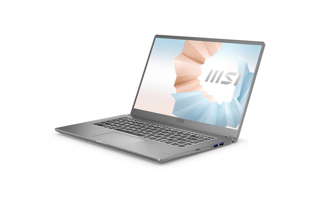 Laptop MSI Modern 15 A11M 099VN Silver
