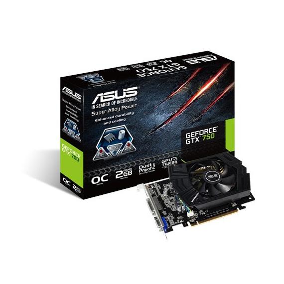 Card màn hình Asus 1GB GTX750-PHOC-1GD5