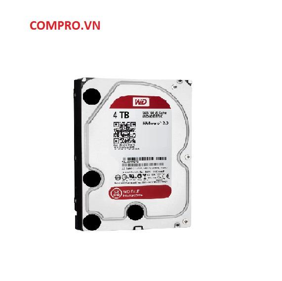 Ổ cứng Harddisk NAS HDD WD 4TB WD40EFRX Sata 3