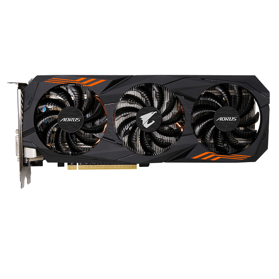 Card màn hình Gigabyte AORUS GeForce GTX 1060 6GB N1060AORUS-6GD
