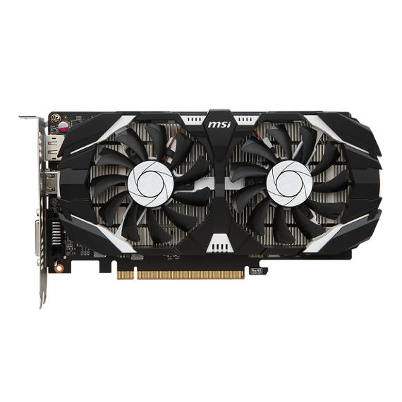 Card màn hình Msi GeForce GTX 1050 Ti4GB GTX1050Ti 4GT OCV1