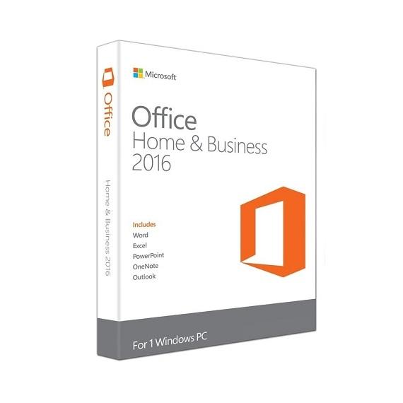 Phần mềm Office Home and Business 2016 32-bit/64-bit APAC EM DVD (T5D-02695)