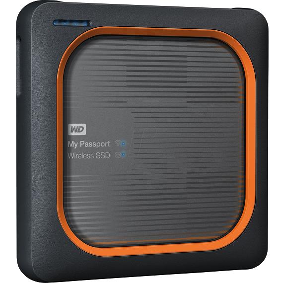 Ổ cứng di động SSD 2TB Western Digital My Passport Wireless WDBAMJ0020BGY usb 3.0