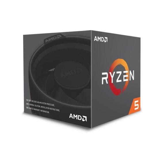 CPU AMD Ryzen R5 1600X (3.6GHz - 4.0GHz)