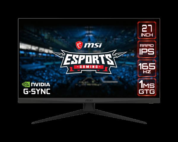 Màn hình LCD MSI Optix G273QF (2560 x 1440/IPS/165Hz/1 ms/G-Sync compatible)