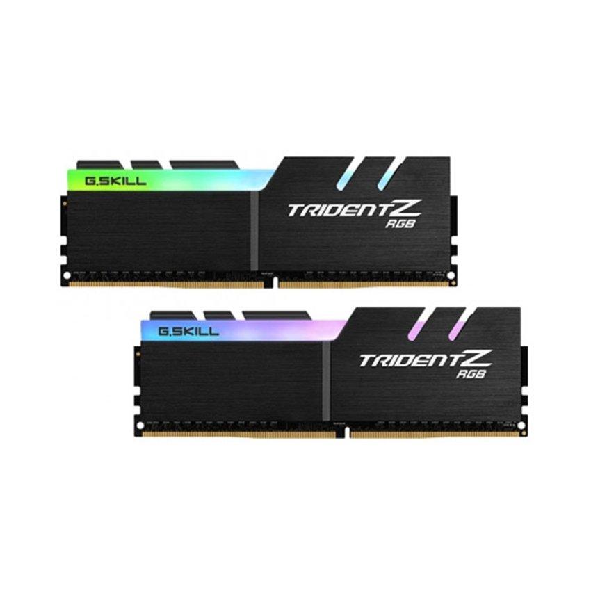 RAM desktop G.SKILL Trident Z RGB 16GB (2 x 8GB) DDR4 3200MHz (F4- 3200C16D-16GTZR)