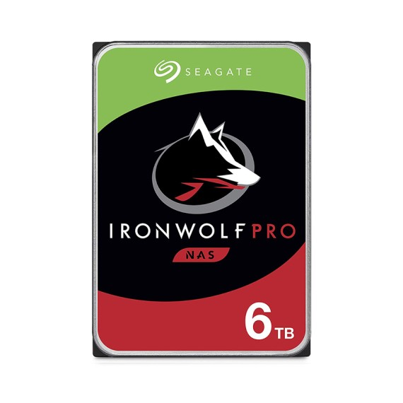 Ổ CỨNG HDD SEAGATE IRONWOLF PRO 6TB 3.5