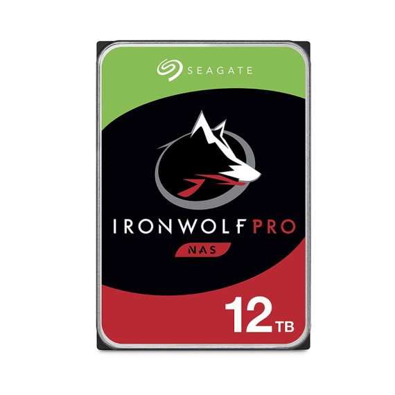 Ổ CỨNG HDD SEAGATE IRONWOLF PRO 12TB 3.5