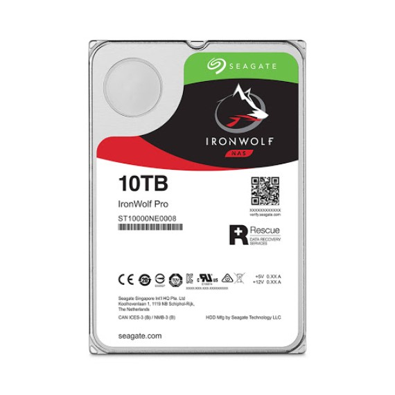 Ổ CỨNG HDD NAS Ổ CỨNG HDD NAS SEAGATE IRONWOLF PRO 10TB 3.5