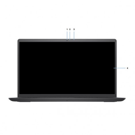 Laptop Dell Vostro 3510 P112F002ABL (Đen)