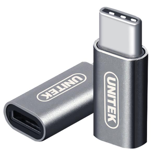 ĐẦU ĐỔI TYPE-C ->USB 3.0 UNITEK (Y-A 025CGY)
