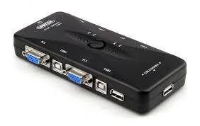 SWITCH KVM USB 4-1 UNITEK (U-8710)