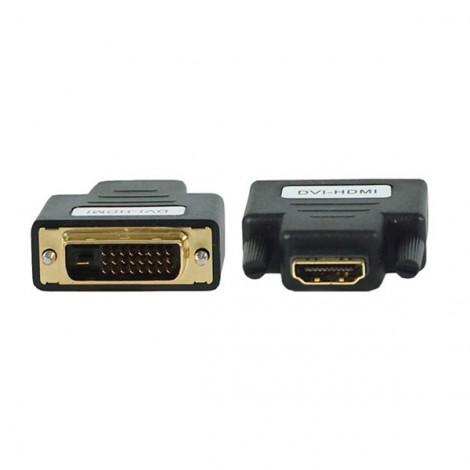 ĐẦU ĐỔI HDMI (L) ->DVI 24 + 1 (K) UNITEK (Y-A 007)