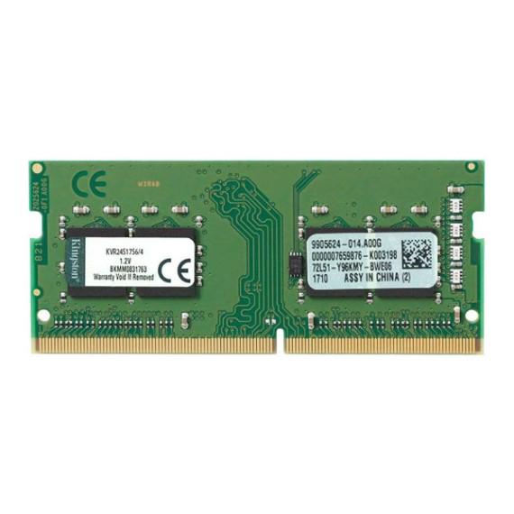 RAM LAPTOP 4GB KINGSTON BUS 2400MHZ KVR24S17S6/4